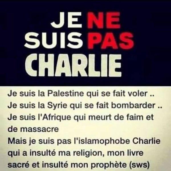 #JeNeSuisPasCharlie
