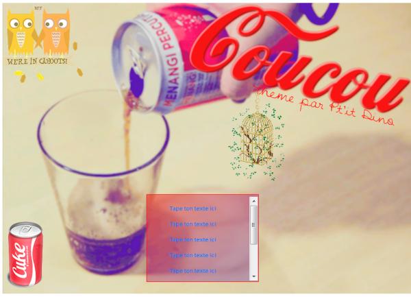 Thème 36-Coca Cola