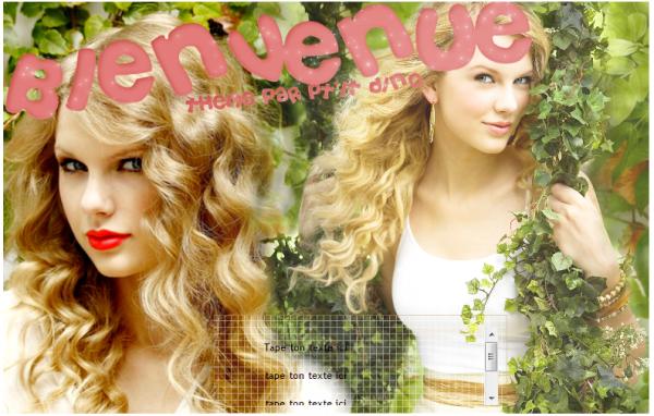 Thème 37-Taylor Swift
