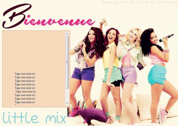 Thème 51 - Little Mix