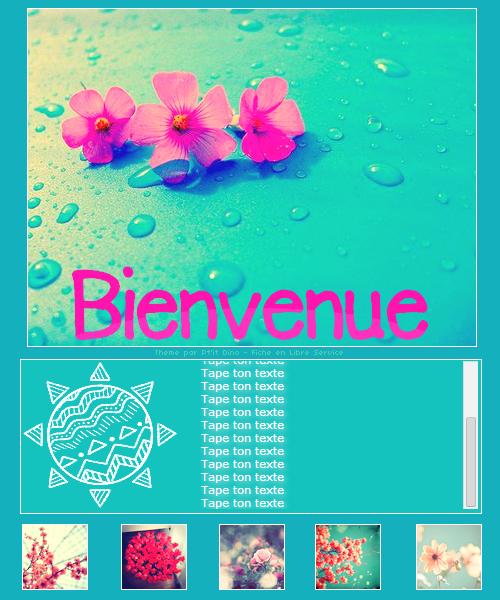 Thème 80 - Flowers