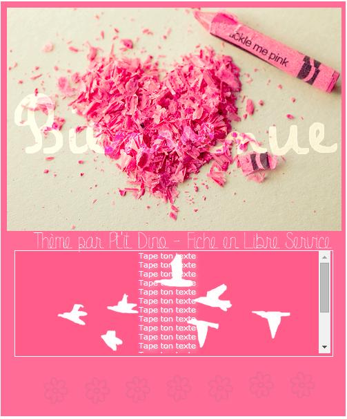 Thème 81 - Pink !