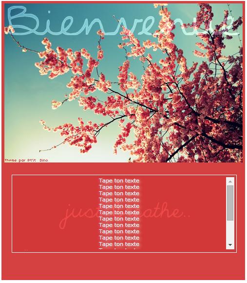Thème 83 - Spring Bis