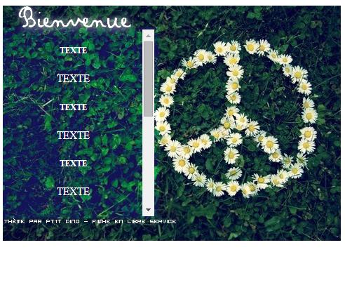 Thème 84 - Peace