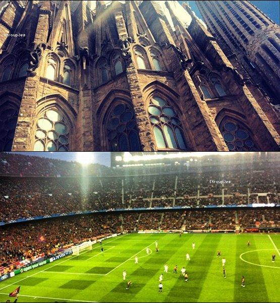 .  22 Avril 2012 : Après le cheval, vient le tour du canard. + Jes' est à Barcelone.
