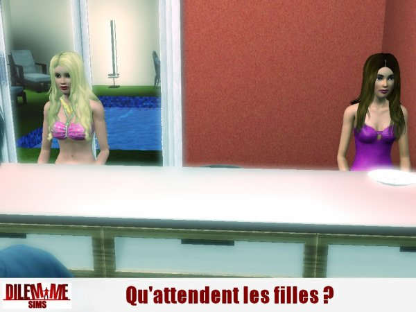 Dilemme Sims / Quotidienne 1 / Partie 2