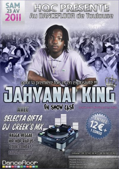 JAHYANAI KING A TOULOUSE