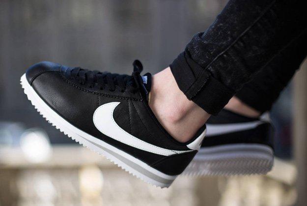 Nike-Cortez-Classic-Black-White
