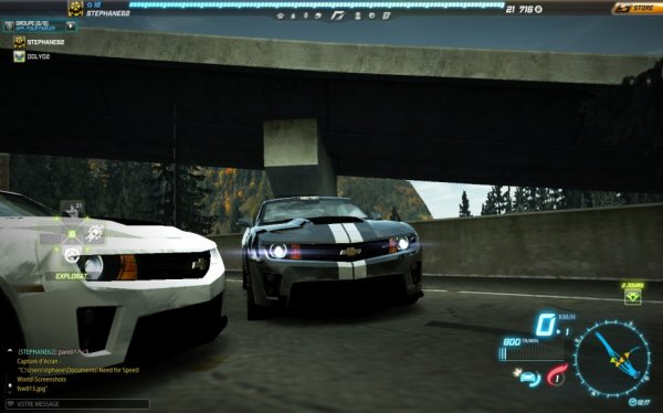 MON Stephane est moi sur need for speed ah ah ^^ <3<3 je t'aime