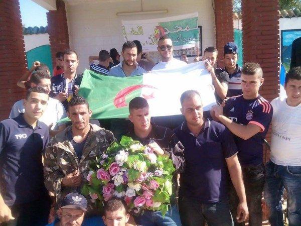 Commémoration du 62ème anniversaire du déclenchement de la guère de libération national au village Tizi Alouane