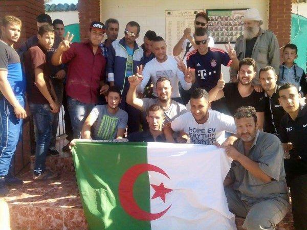 Commémoration du  1er Novembre au village Tizi Alouane