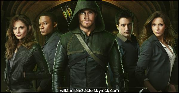 Photos promos de la première saison d'Arrow.
