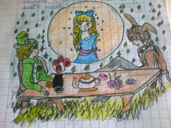 Alice , dessin 1