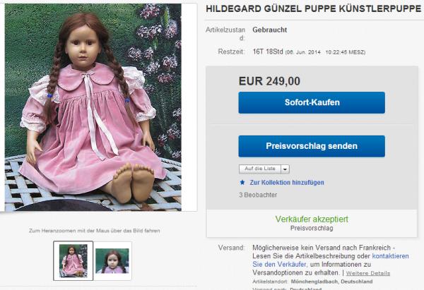 ♥ Ƹ̵̡Ӝ̵̨̄Ʒ ● ma poupee sur ebay.de♥ Ƹ̵̡Ӝ̵̨̄Ʒ