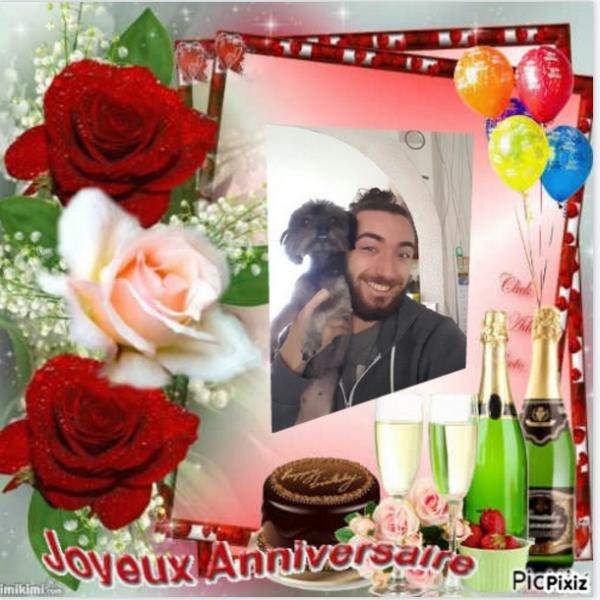 ♥ Ƹ̵̡Ӝ̵̨̄Ʒ ● joyeux anniversaire  ♥ Ƹ̵̡Ӝ̵̨̄Ʒ