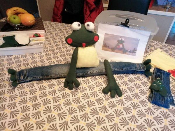 ma grenouille de porte