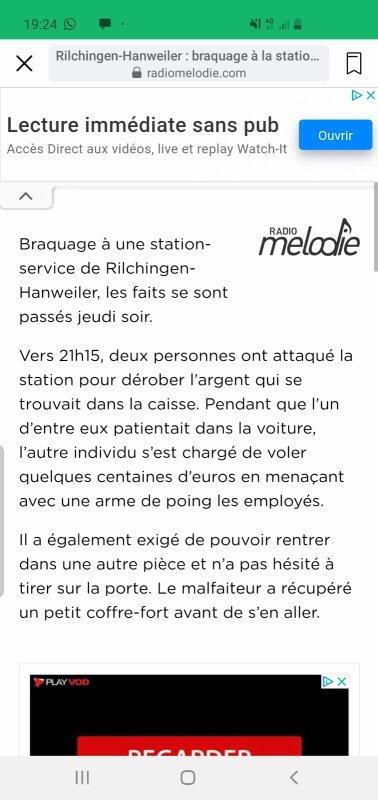 Bracage station service