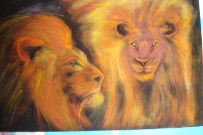 LIONS au pastel