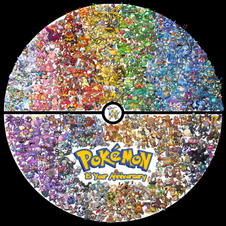 Pour fêter l'obtention de tous les Pokemon dans Noir 2 voici quelques fanart