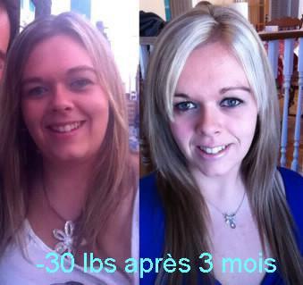 -30 lbs en 3 mois
