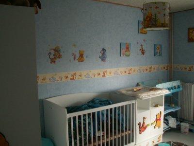 voici la chambre de notre fils!!!