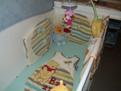 le lit de notre fils soan est pret !!!