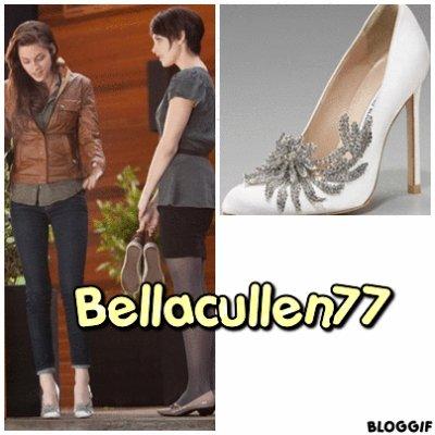 Les chaussures de bella au mariage