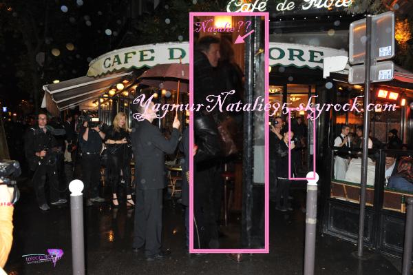 Natalie Franz in Paris.