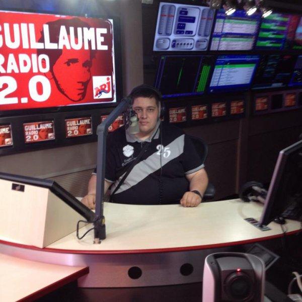 visite studio nrj avec guillaumpe radio 2.0