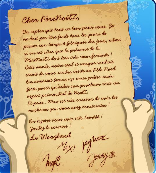 La Fameuse Lettre Au Pere noël