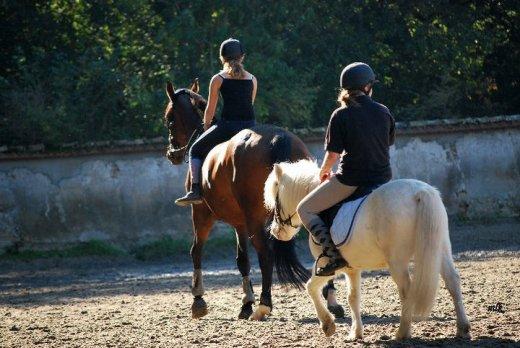 On a échangé nos chevaux ;)