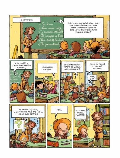histoire drole institutrice