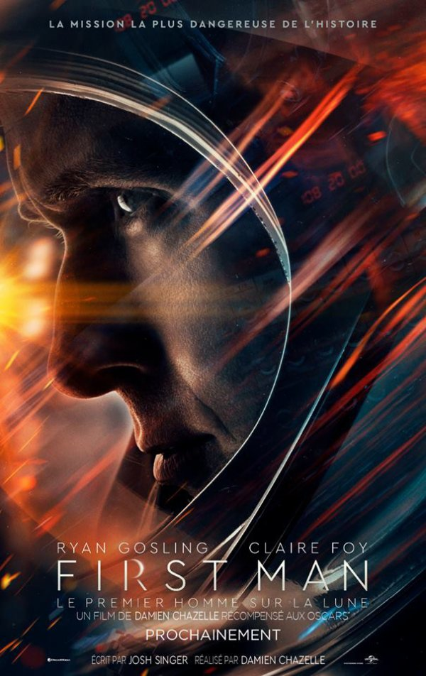 First Man affiche francaise