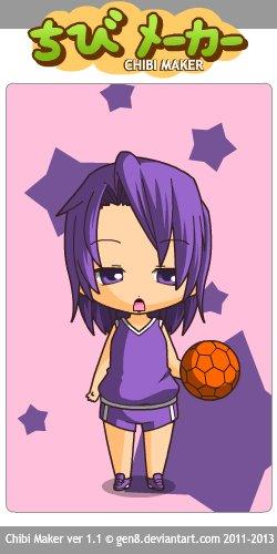 Chibis Kuroko no Basket.