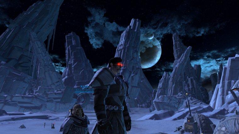 Ilum, certainement la planète préférée du Seigneur Deinolictor.