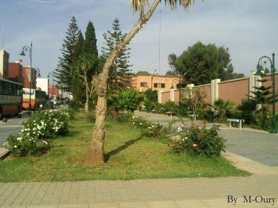 Trottoire Avenue Mohamed V