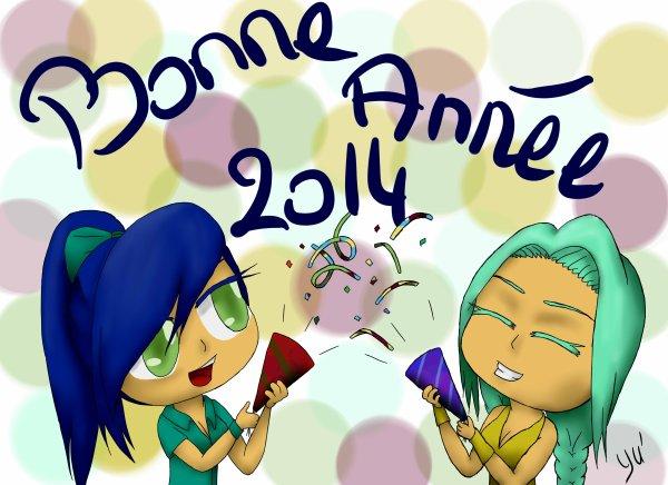 Bonne Année les loulous!!! XD