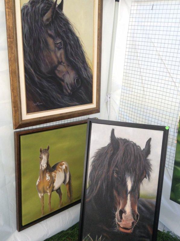 Peinture et impression sur des coussins!! (Photos de moi)
