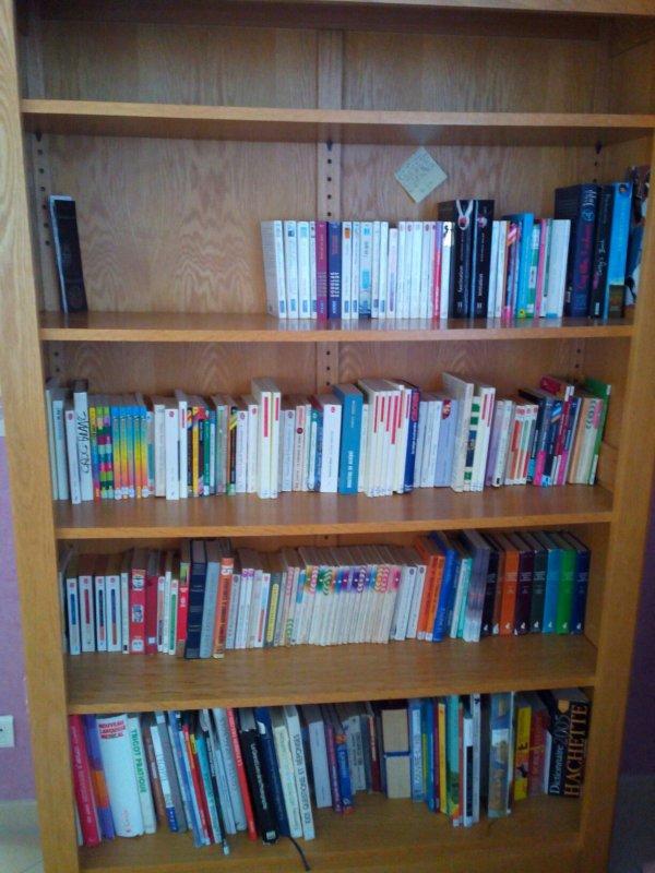 Voici ma bibliothèque