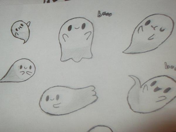 Fantômes kawaii