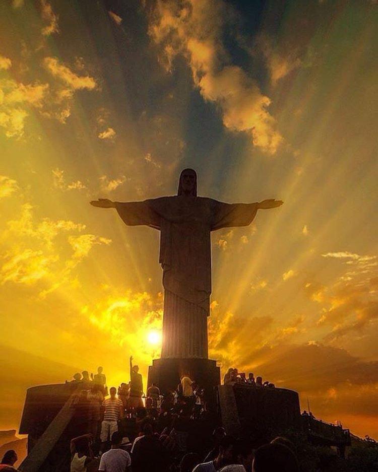 Le Corcovado : Le Christ rédempteur et la baie de Rio