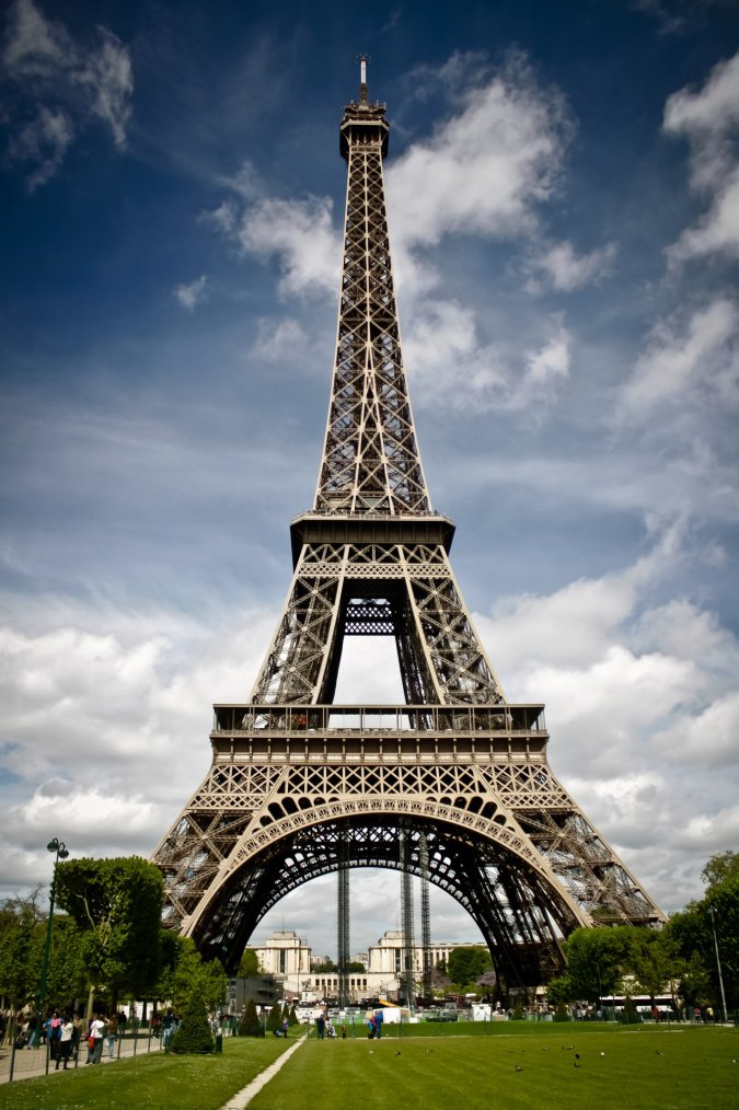 La Tour Eiffel....