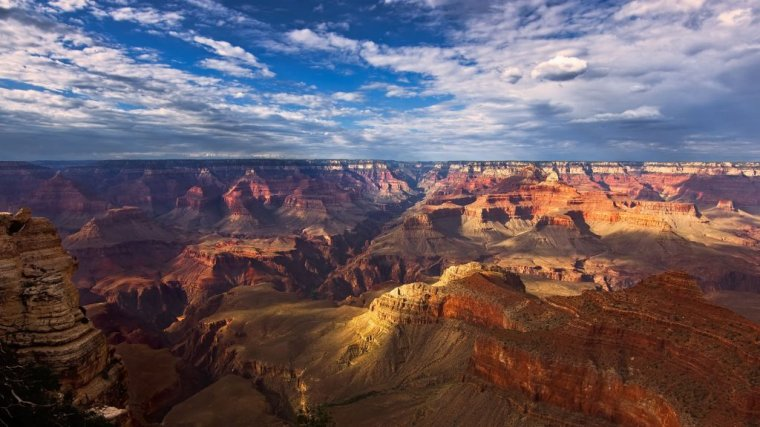 Le Grand Canyon en Arizona....