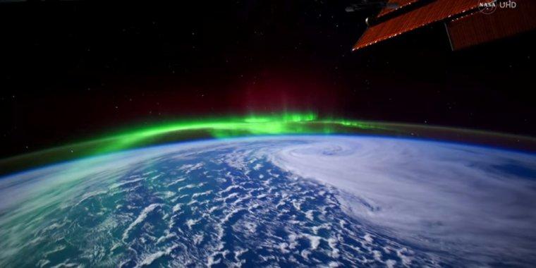 Les aurores boréales où polaires....
