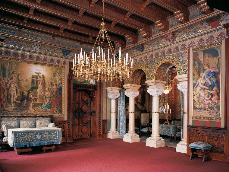 Le Château de Neuschwanstein....