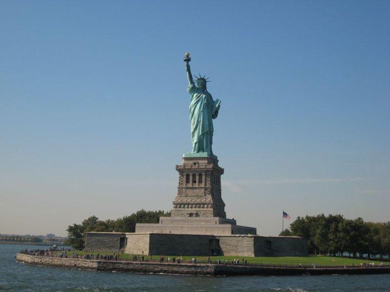 La Statue de la Liberté sur Liberty Island