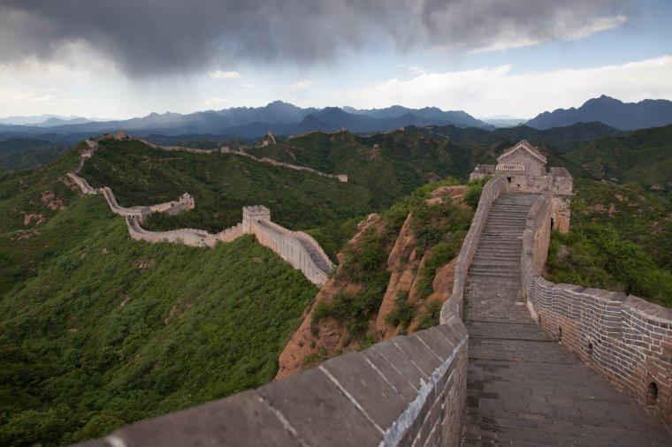 La Muraille de Chine, dite la Grande Muraille....