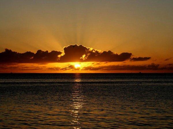 coucher de soleil n° 2....
