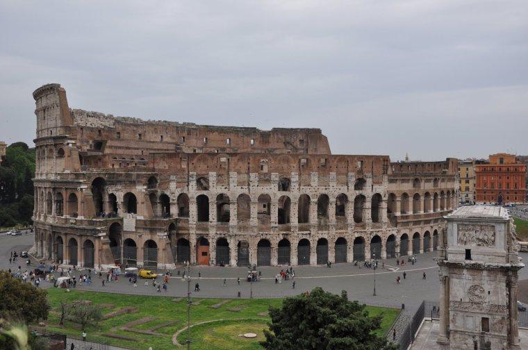 Le colisée de Rome......