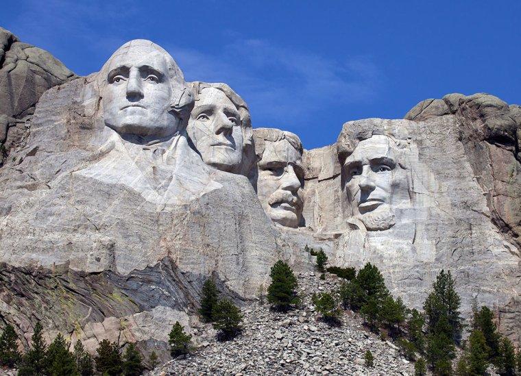 Le mont Rushmore,Dakota du Sud, USA....